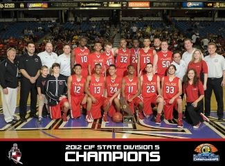 2012 CIF State Division 5 Champions